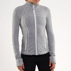 lululemon define jacket in ghost herringbone